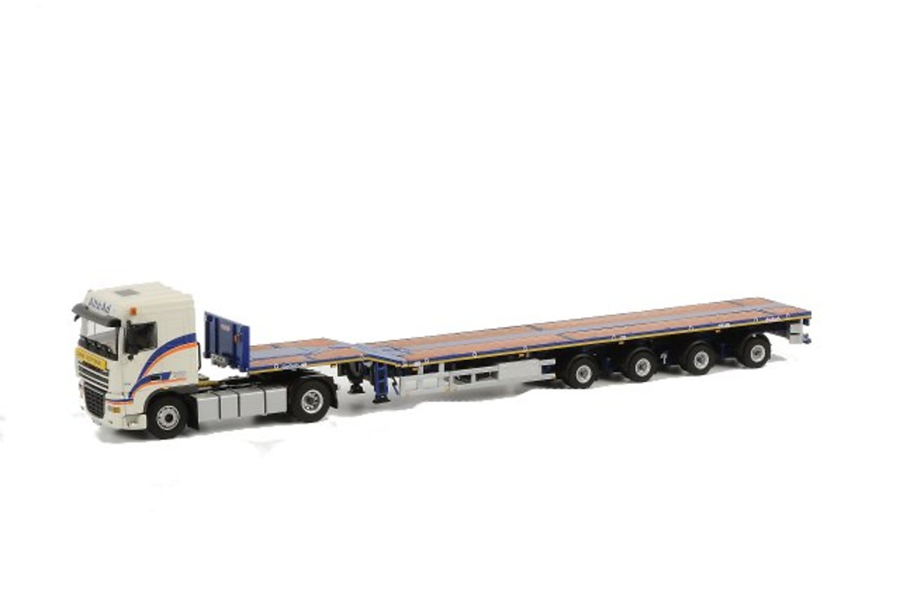 ALTEAD - 4-axle Telestep + DAF XF 4x2, Wsi Collectibles 1/50