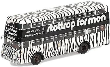 Autobus Buessing D2U Doble Piso Stottrop Berlin Minichamps 439071084 escala 1/43
