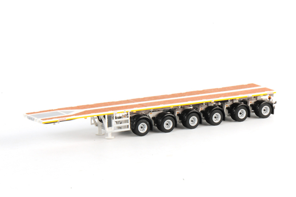 Balast trailer 6 ejes blanco, Wsi Collectibles 1/50 03-1122