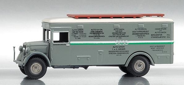 BUESSING-NAG Camion Oficial Auto-Unión Bub 1/87