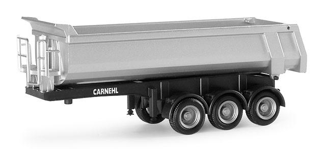 Carnehl remolque volquete 3 ejes, Herpa 76241 escala 1/87