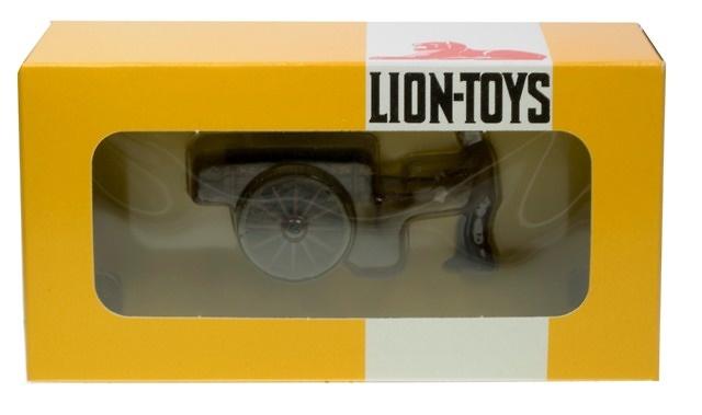 Carro con figura Lion Toys 1/50