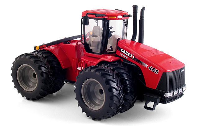 Case IH Steiger 485 Dual-Wheeled Tractor, First Gear 1/50