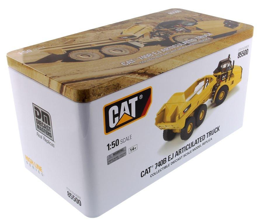 Cat 740B Ej Dumper Diecast Masters 85500 escala 1/50