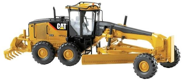 Caterpillar CAT® 14M Motoniveladora, Norscot 55189 escala 1/50