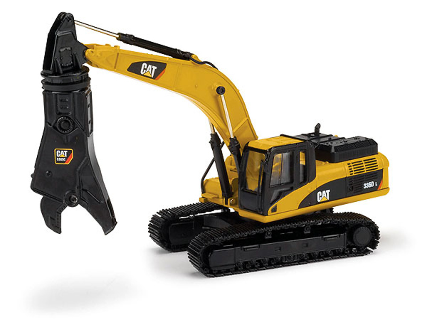 Caterpillar 336D con pinza demolición, Norscot 55283 escala 1/50