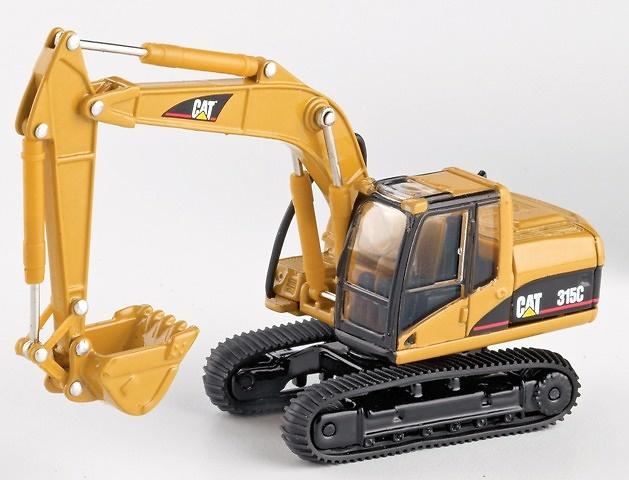 Caterpillar Cat 315C Excavadora Cadenas Norscot 55107 escala 1/87