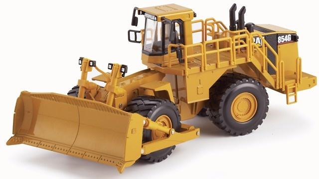 CAT® 854G Bulldozer con ruedas Norscot 1/50