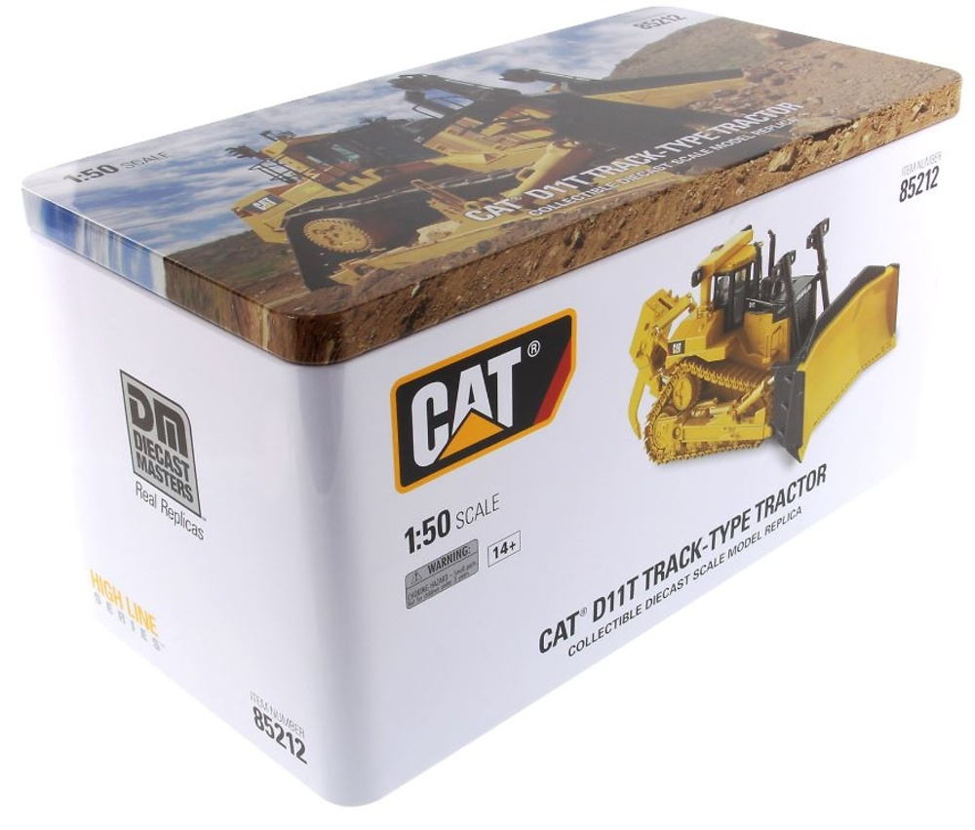 Caterpillar Cat D11T Cadenas metálicas Diecast Masters 85212 escala 1/50