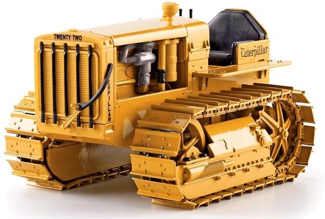 Caterpillar Twenty-Two Tractor de Cadenas Clasico Norscot 55154 escala 1/16