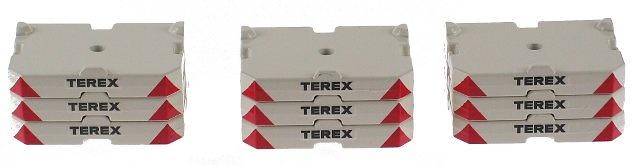 Contrapesos para CC8800 Terex, Conrad 1/50