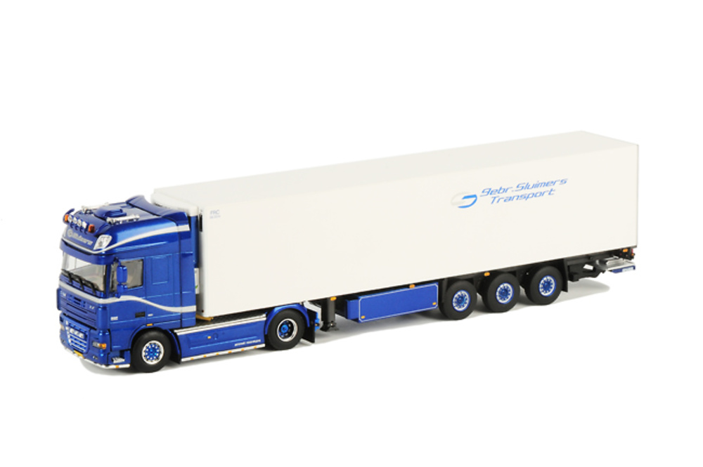 DAF XF 105 SSC frigorifico Thermoking (3 ejes), Wsi Collectibles 1/50 10050