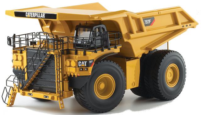 Dumper Cat 797 F Norscot 55206 Masstab 1 50