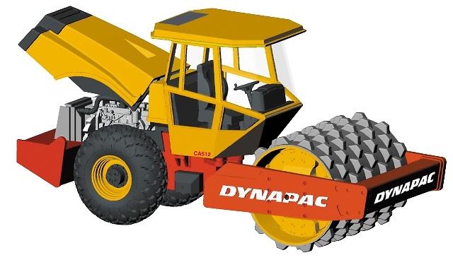 Compactadora Dynapac Joal 207