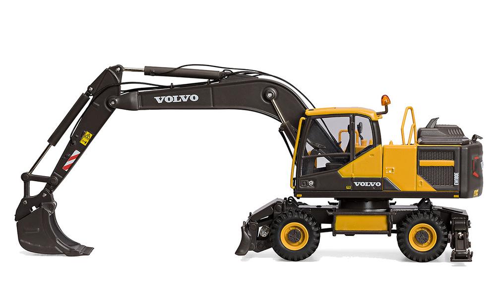 Excavadora ruedas Volvo - EW180E Motorart 300067 escala 1/50