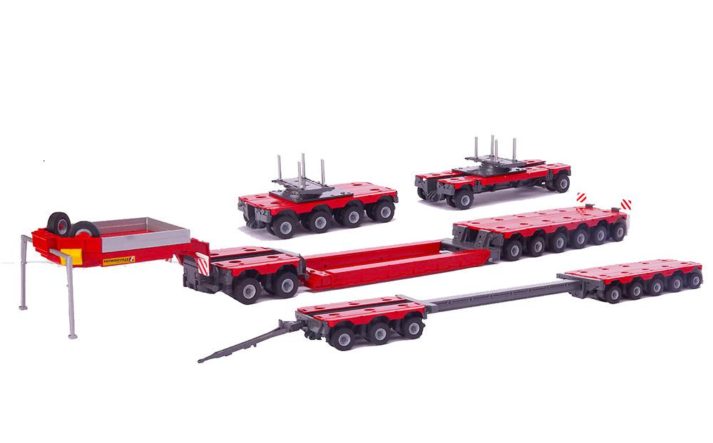 Faymonville Combimax Set transporte especial Conrad Modelle 98023 escala 1/50