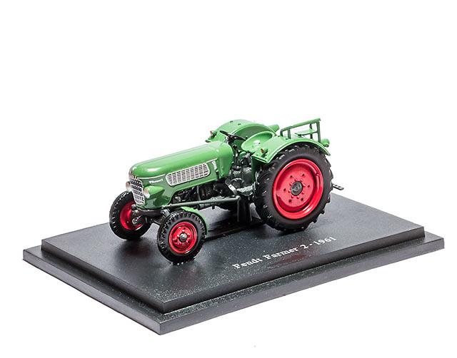Fendt Farmer 2 - 1961 - coleccion HACHETTE / Universal Hobbies escala 1/43