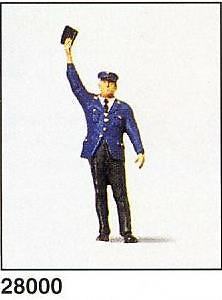 Figura conductor Autobus Lllamando Preiser 1/87