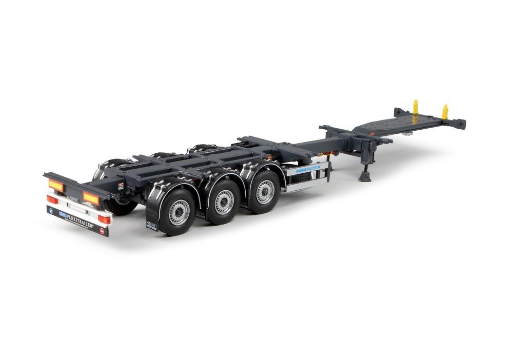Flexitrailer contenedores Tekno 63368 escala 1/50