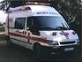 Ford Transit Cruz Roja Española Rietze 51053 escala 1/87