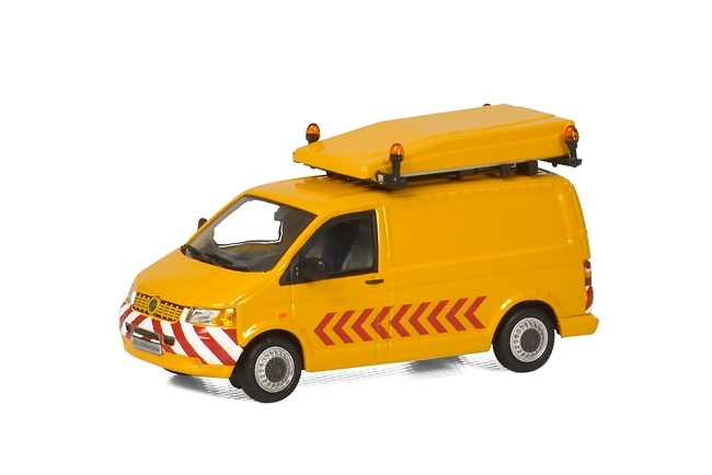 Furgoneta VW BF3 - acompañar transporte especial WSI Models 1179 escala 1/50