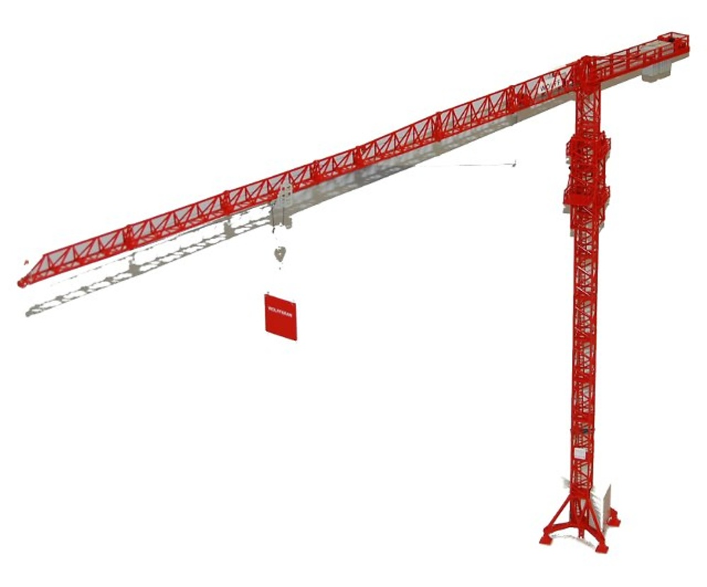 Grua Torre Wolff 6031 clear 1/87 Ros Agritec