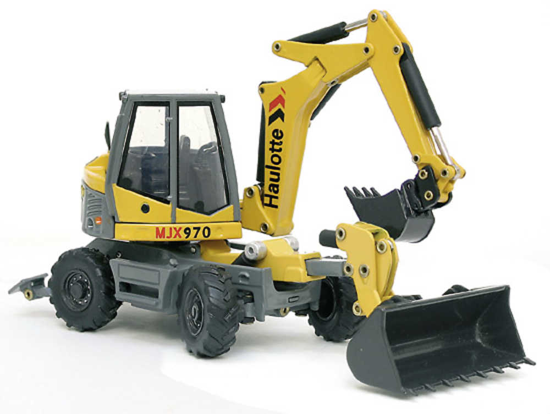 Haulotte Multijob MJX970 Excavadora, Joal 218 escala 1/50
