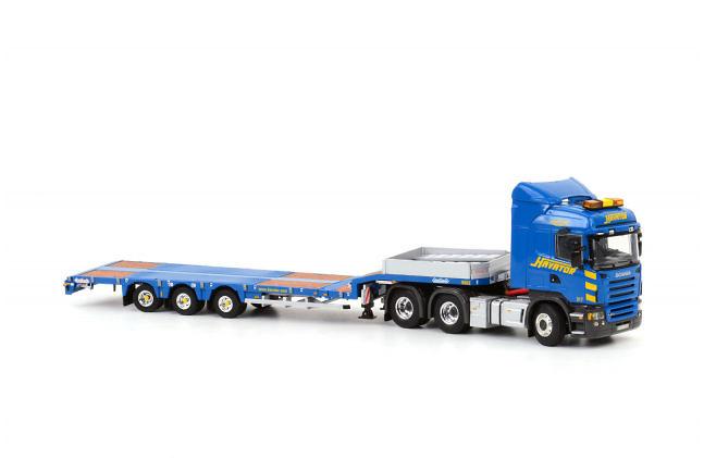 Havator 3-as semi-dieplader + Scania R5 Highline 6x4, Wsi Models 1/50