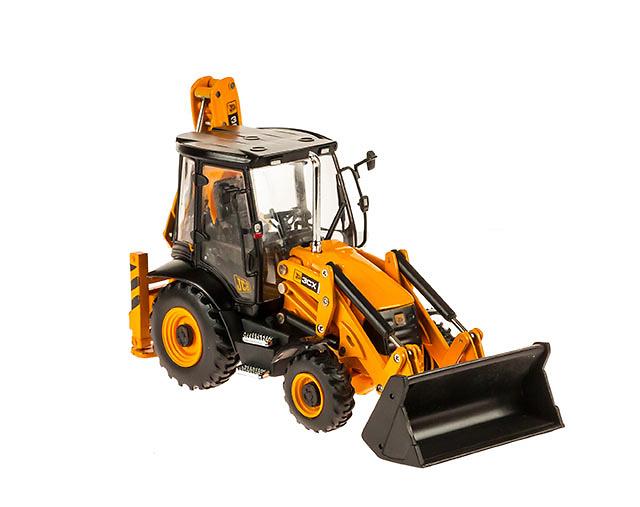 JCB 3CX Mixta Retroexcavadora, Motorart 15837 escala 1/50
