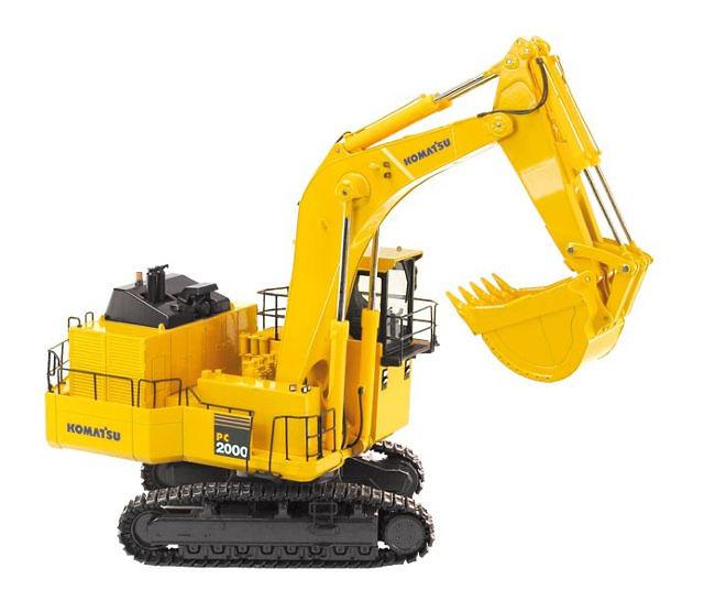 Komatsu PC 2000-8 excavadora mineria Nzg Models 7621 escala 1/50