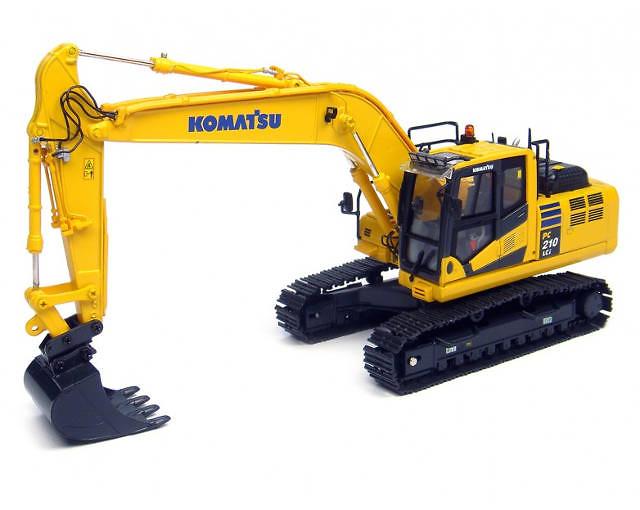 Komatsu PC210LCi-10 Excavadora, Universal Hobbies 8094 escala 1/50