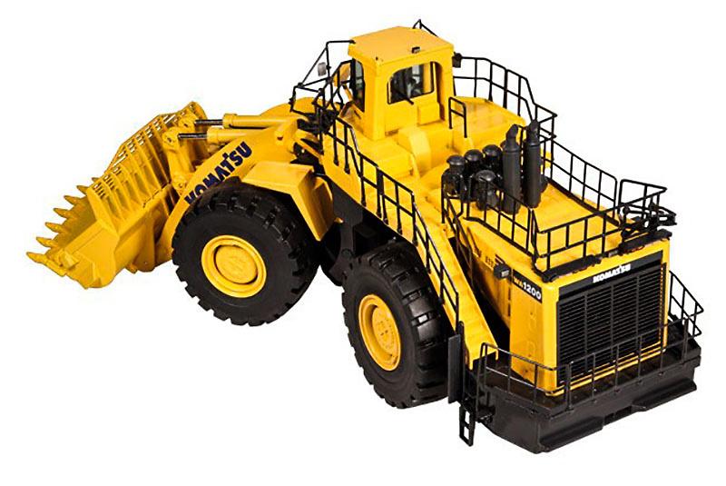 Komatsu WA1200 Radlader Nzg 889 escala 1/50