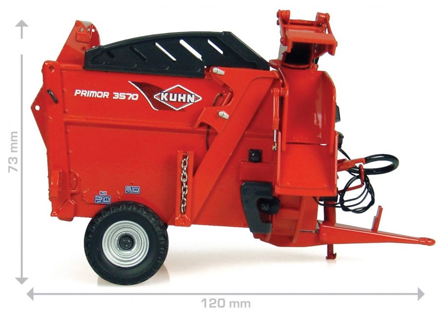 Kuhn Primor 3570 M Universal Hobbies 1/32 4041