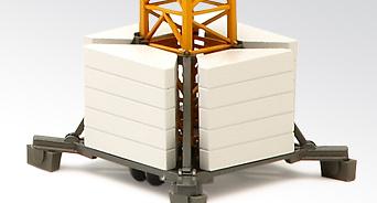 Liebherr 112 EC-H Grúa Torre, Conrad 2024 escala 1/87