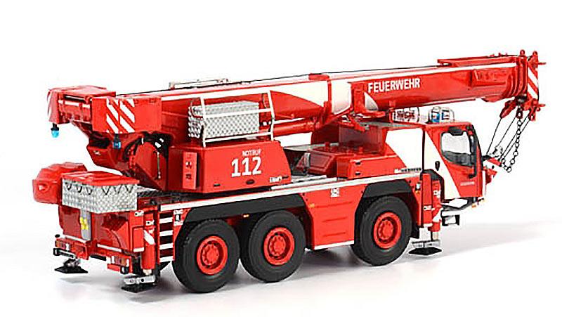 Liebherr LTM 1050 -3.1 Grua Autopropulsada Bomberos WSI Models 1067 escala 1/50