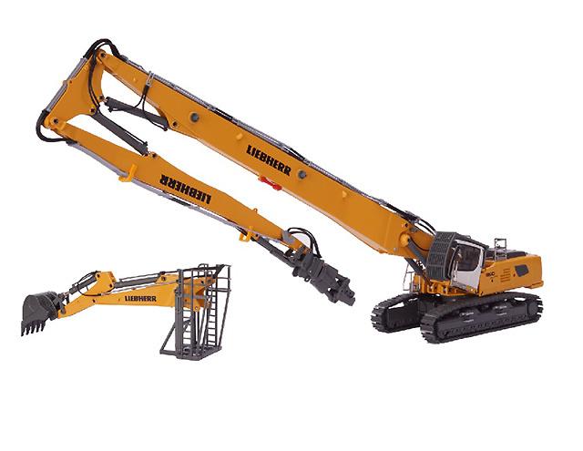 Liebherr R 960 demolición Conrad Modelle 2205/0 escala 1/50
