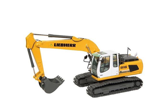 Liebherr R916 excavadora Nzg 891 escala 1/50