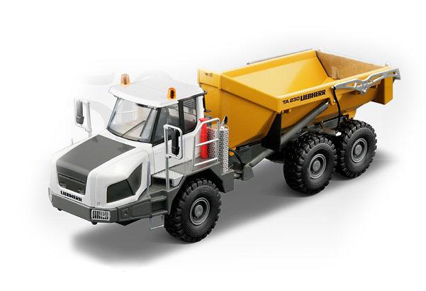 Liebherr TA230 Dumper Articulado, Conrad Modelle 1/50 2728