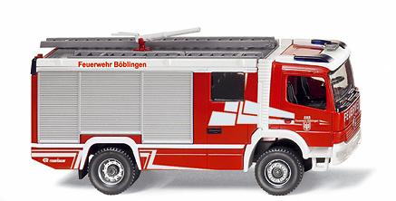 MB Rosenbauer RLFA 2000 AT Bomberos Wiking 1/87