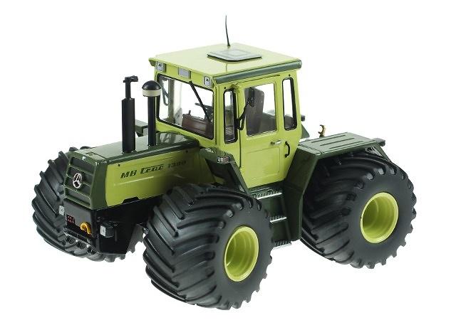 MB Trac 1300 Terrareifen (1984-1987,) Weise Toys 1018 escala 1/32