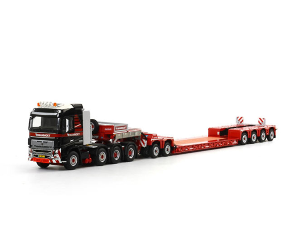 Mammoet Nooteboom 2+4 EURO-PX with ICP Interdolly + Volvo FH4 8x4 Wsi Models 1/50