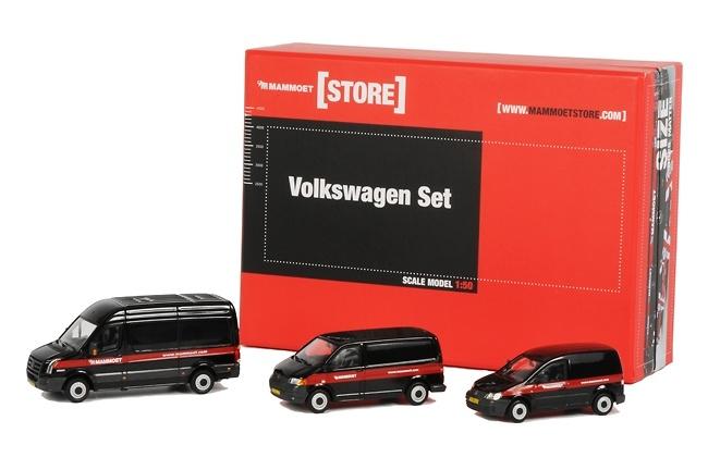 Mammoet Volkswagen Set, Wsi Models 1/50