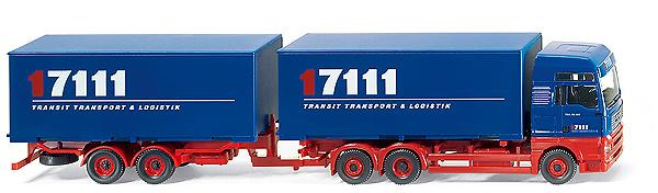 MAN TGA XXL Camion c/remolque Wiking 1/87