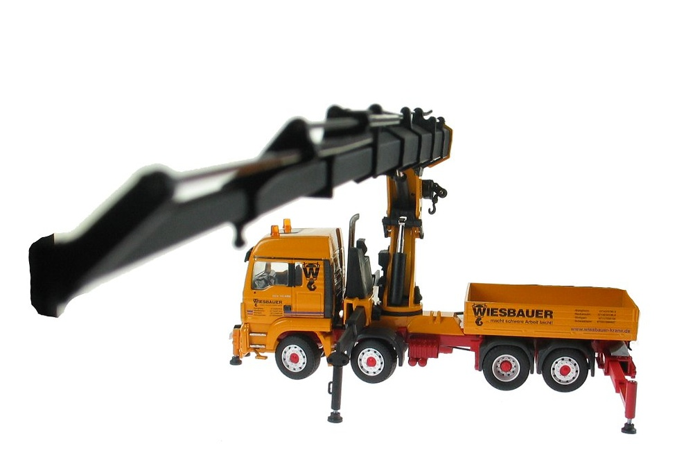 Man Tgs 35.480 8x4 con grua Palfinger PK 100002, Conrad Modelle 71193