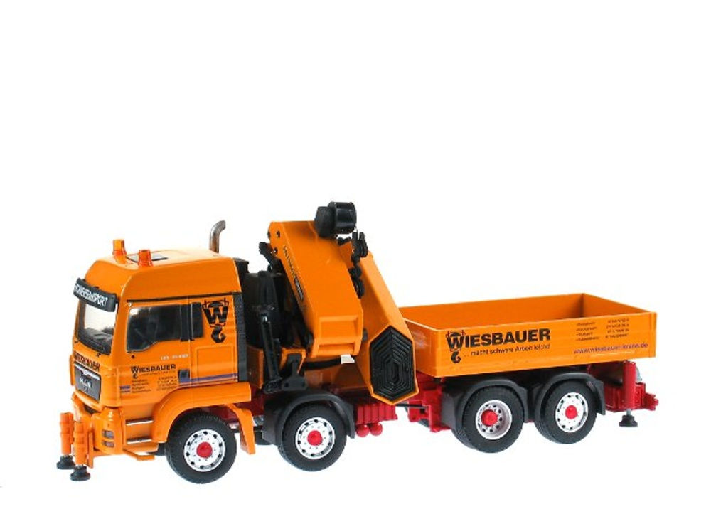 MAN TGS 35.480 8x4 con grua Palfinger PK 100002, Conrad Modelle 1/50 71193