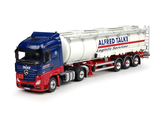 Mercedes Benz Actros Streamspace cisterna Alfred Talke Tekno 67349 escala 1/50