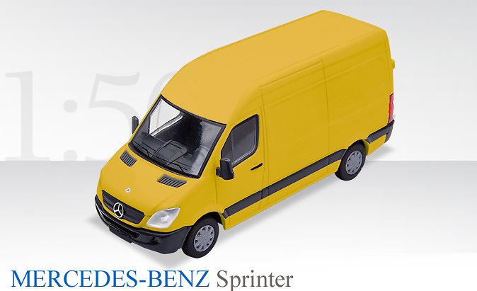 mercedes sprinter sprinter gelb conrad modelle 1610 06. Black Bedroom Furniture Sets. Home Design Ideas
