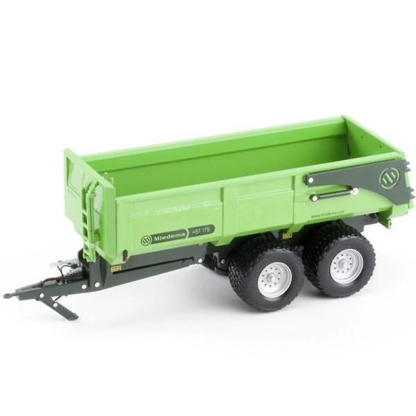 Miedema HST 175 Verde, Ros Agritec 60206 escala 1/32