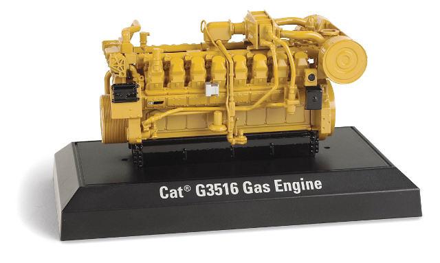 Motor Generador a Gas Caterpillar CAT G3516, Norscot 55238 escala 1/25