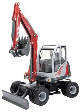 Neuson 6502 Excavadora con ruedas Joal 1/25